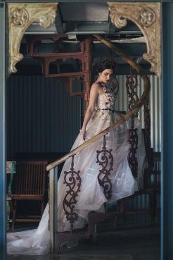 Bridal wedding dress (2)