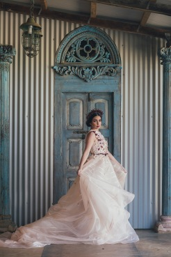 Bridal wedding dress (3)
