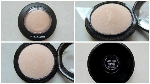 MAC warm rose powder