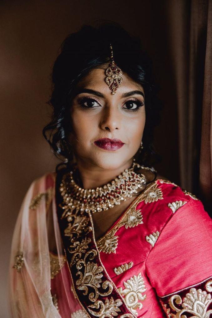 indian bridal hair and makeup in durban   saubhaya makeup