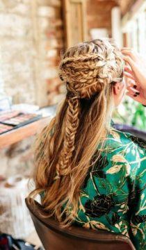 Durban Bridal Hair dresser hairdresser durban bridal wedding hair